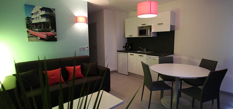 Appartement de la résidence Côté Mer
