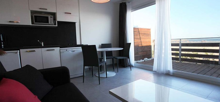 Appartement de la résidence Côté Mer.