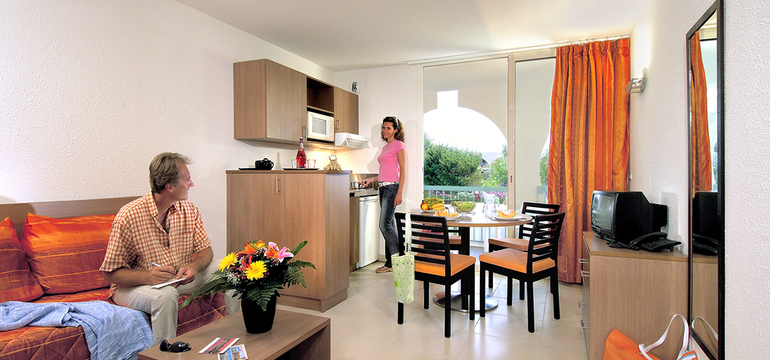 Appartement de la résidence Resideal Bernard de Ventadour