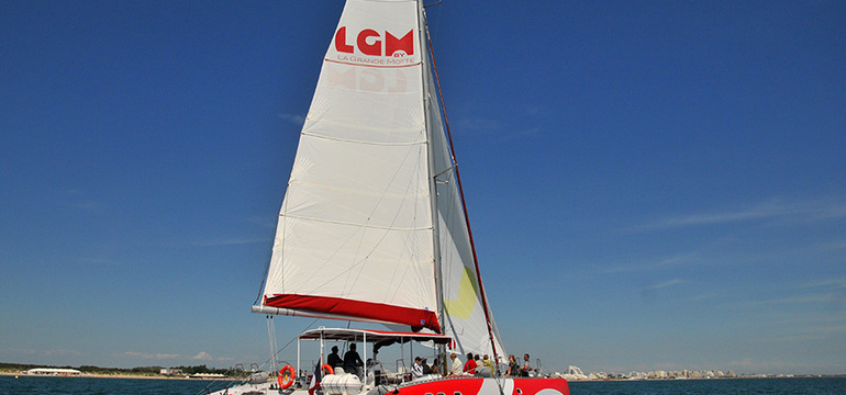 Catamaran Lucile 2