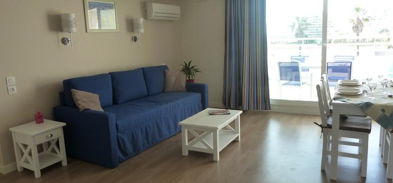 Appartement 2/3 pièces pour 6/7 personnes