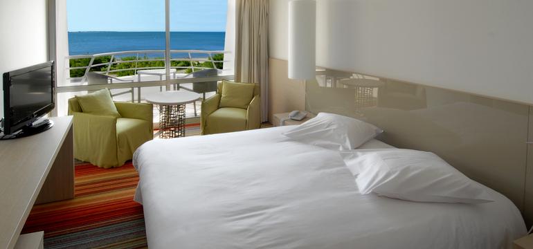 Chambre - Hôtel Les Corallines